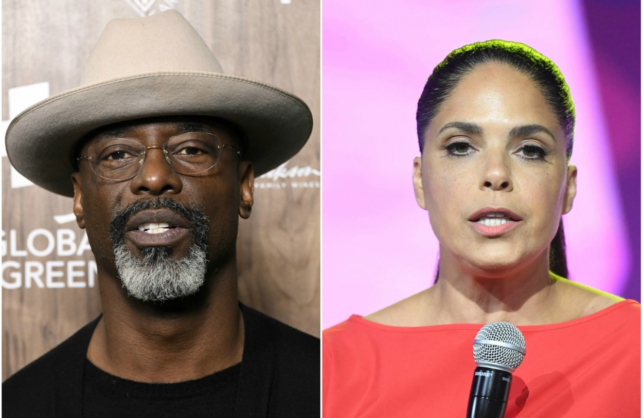 Isaiah Washington clashes with Soledad O'Brien over his conversion to conservatism