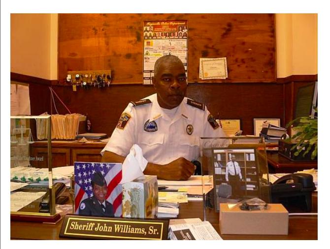 Sheriff John Williams thegrio.com