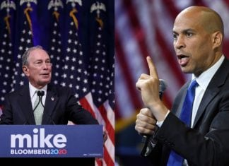 Mike Bloomberg and Cory Booker thegrio.com