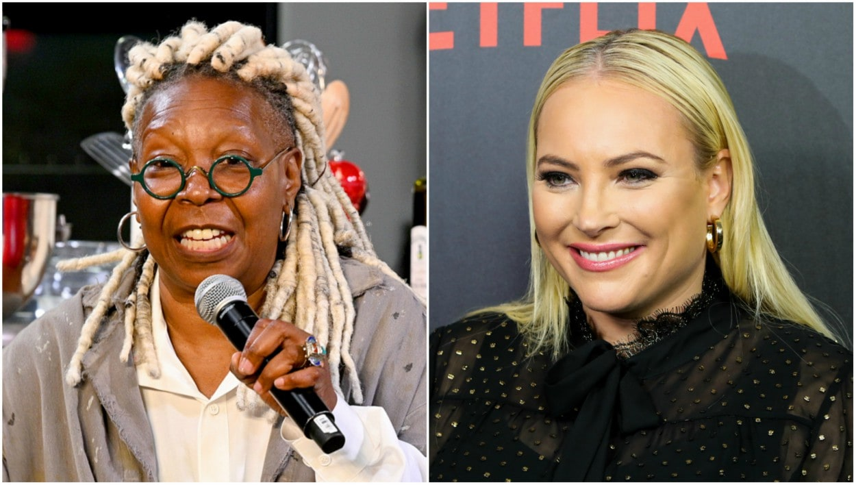 Whoopi Goldberg and Meghan McCain get into heated debate about Rush Limbaugh's 'Medal of Freedom' - TheGrio