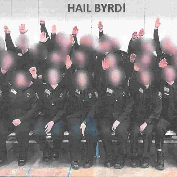 West VA correctional cadets photoed giving Nazi salute will all be fired