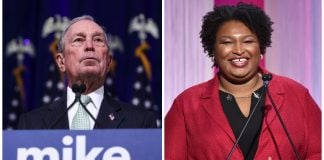 Michael Bloomberg Stacey Abrams