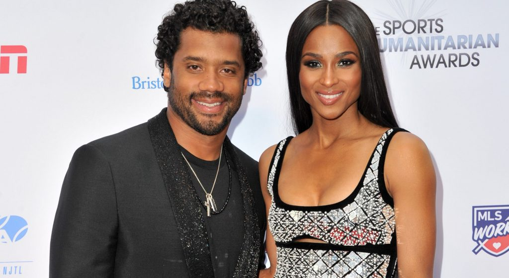 Ciara tears up as Russell Wilson reveals prayer that brought them together
