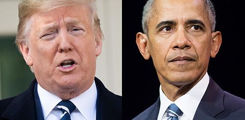 Trump Obama thegrio.com