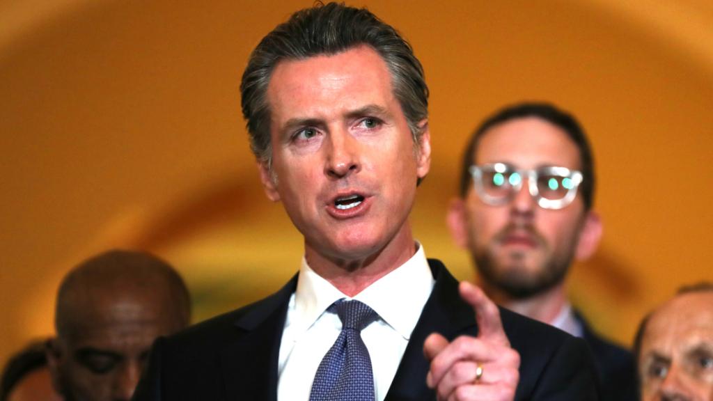 California Gov. Gavin Newsom theGrio.com