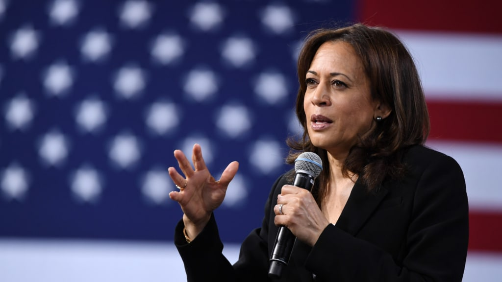 Kamala Harris has a message for Black men