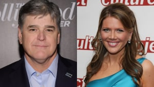 Sean Hannity and Trish Regan