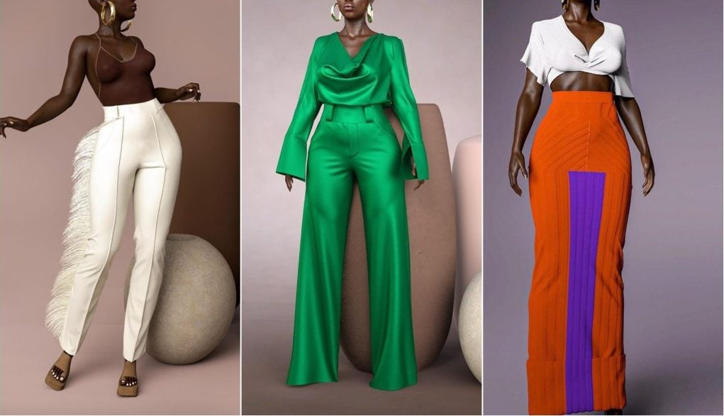 Hanifa launches Pink Label Congo collection using 3D models on IG Live