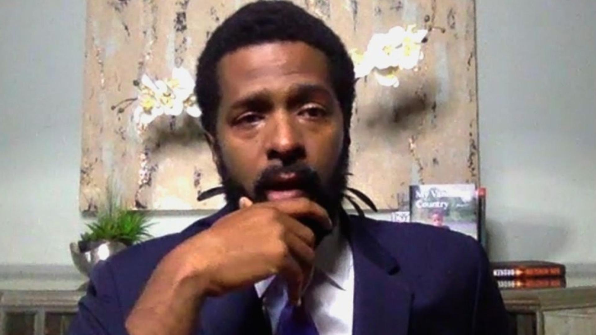 Bakari Sellers cries over George Floyd murder: 'It's hard being Black in this country'