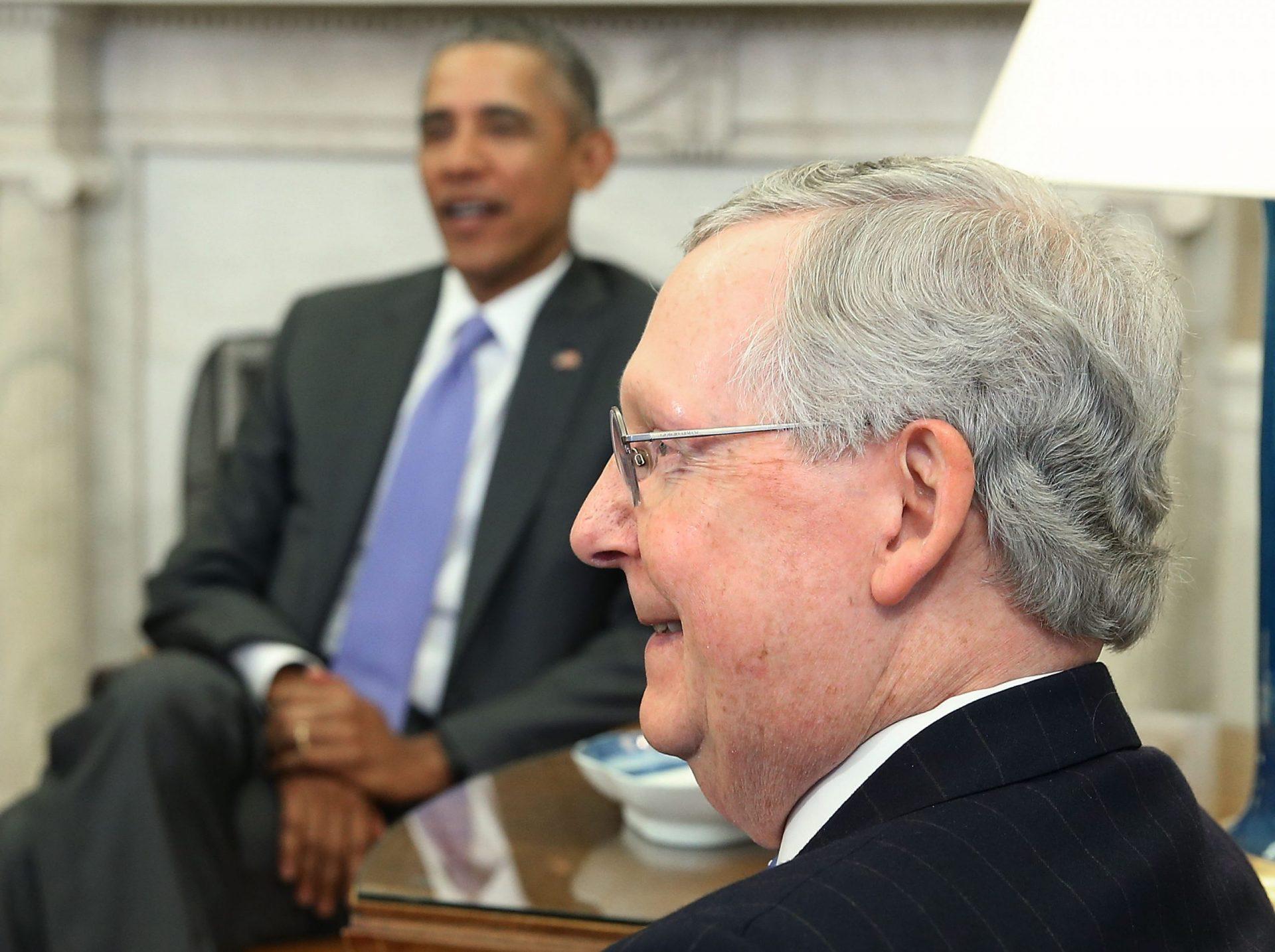 Barack Obama Mitch McConnell theGrio.com