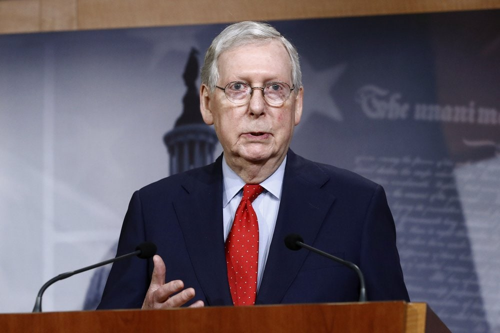 McConnell says Trump court nominee will receive vote by Senate