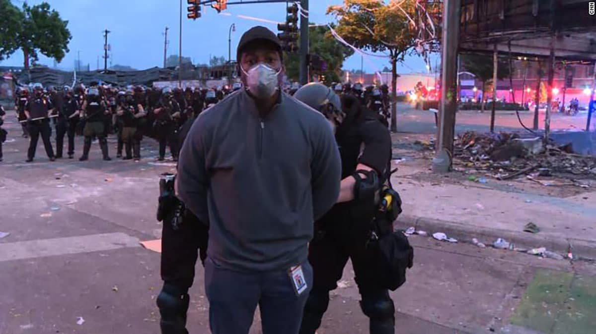 CNN reporter arrested while covering Minneapolis protests, governor apologizes