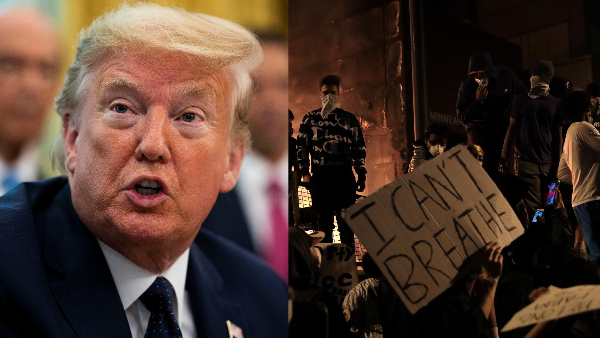 Donald Trump vs. Protesters
