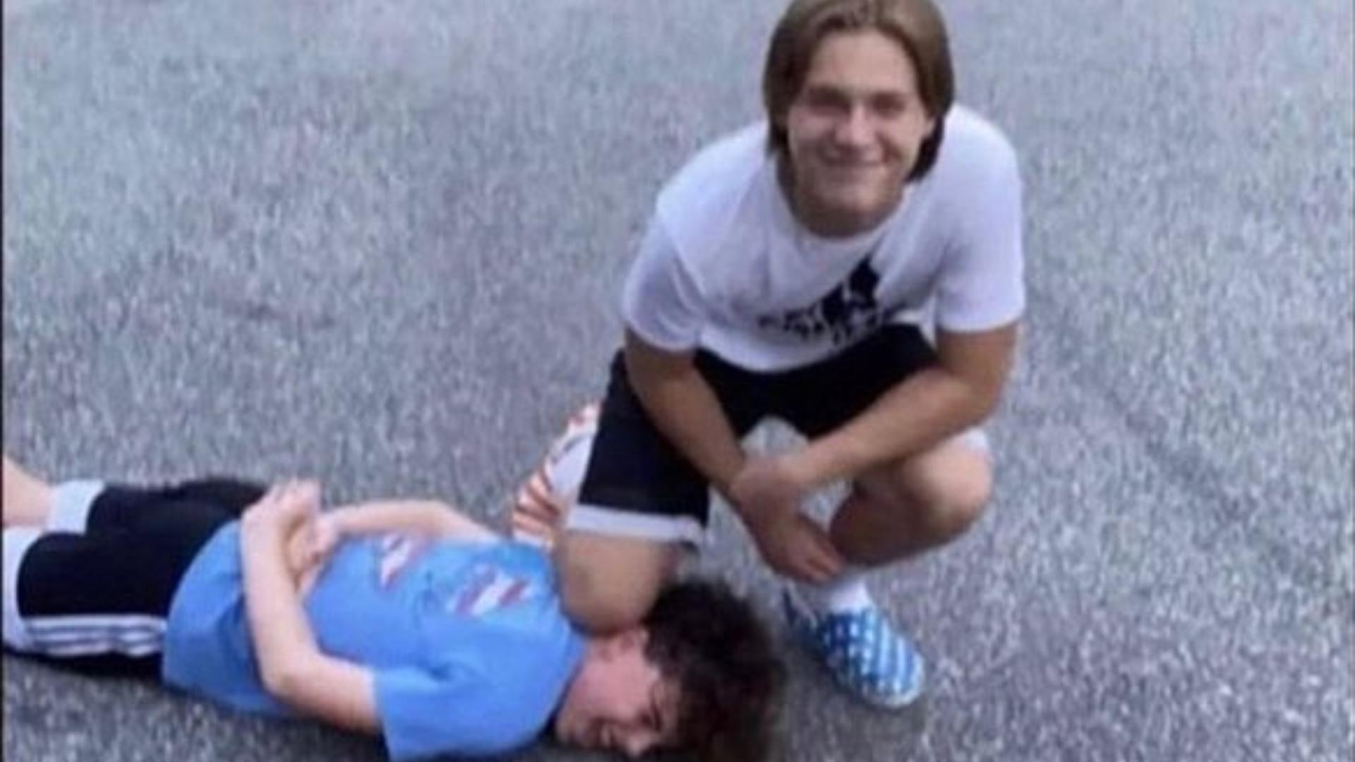 White teens start 'George Floyd' challenge mocking his death - TheGrio