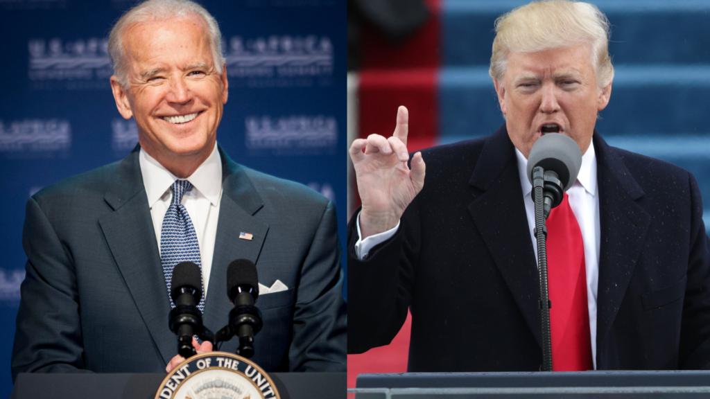Joe Biden Donald Trump theGrio.com