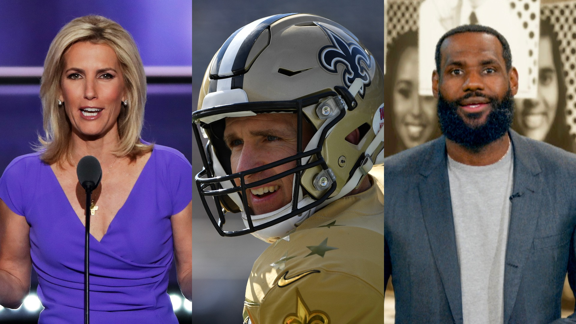 Fox host Laura Ingraham called out for different responses to Drew Brees than LeBron James - TheGrio