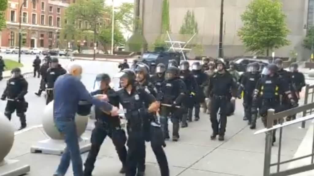 Police Assault on Senior in Buffalo theGrio.com