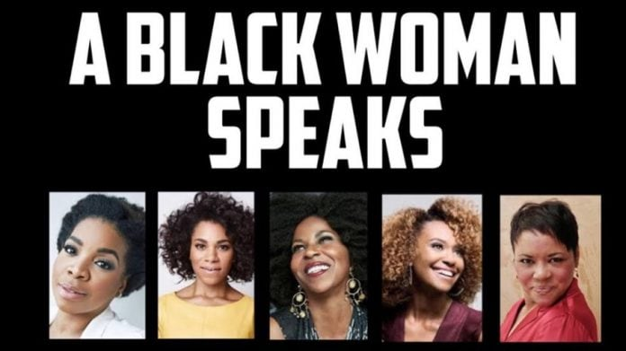 a black woman speaks