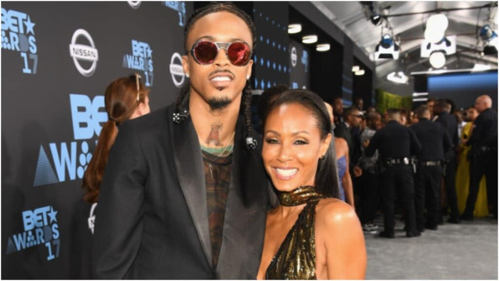 August Alsina Jada Pinkett Smith thegrio.com