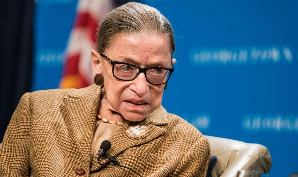 Justice Ruth Bader Ginsburg Speaks At Georgetown Law