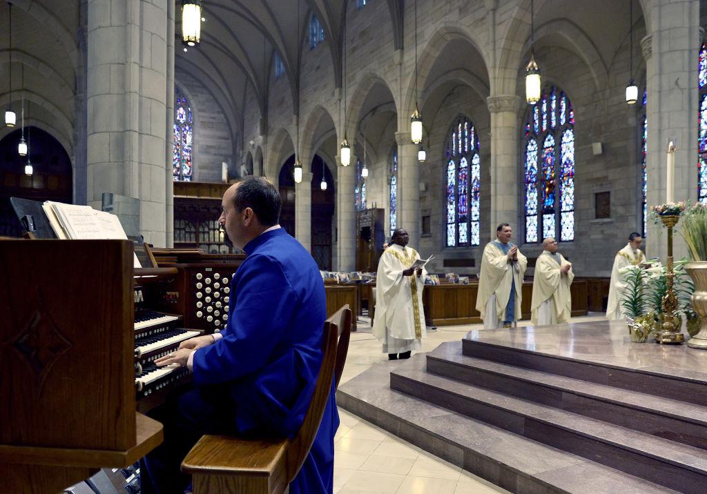 Catholic Church Holds Remote Easter Mass During Coronavirus Pandemic