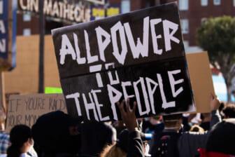 Black Lives Matter protest California