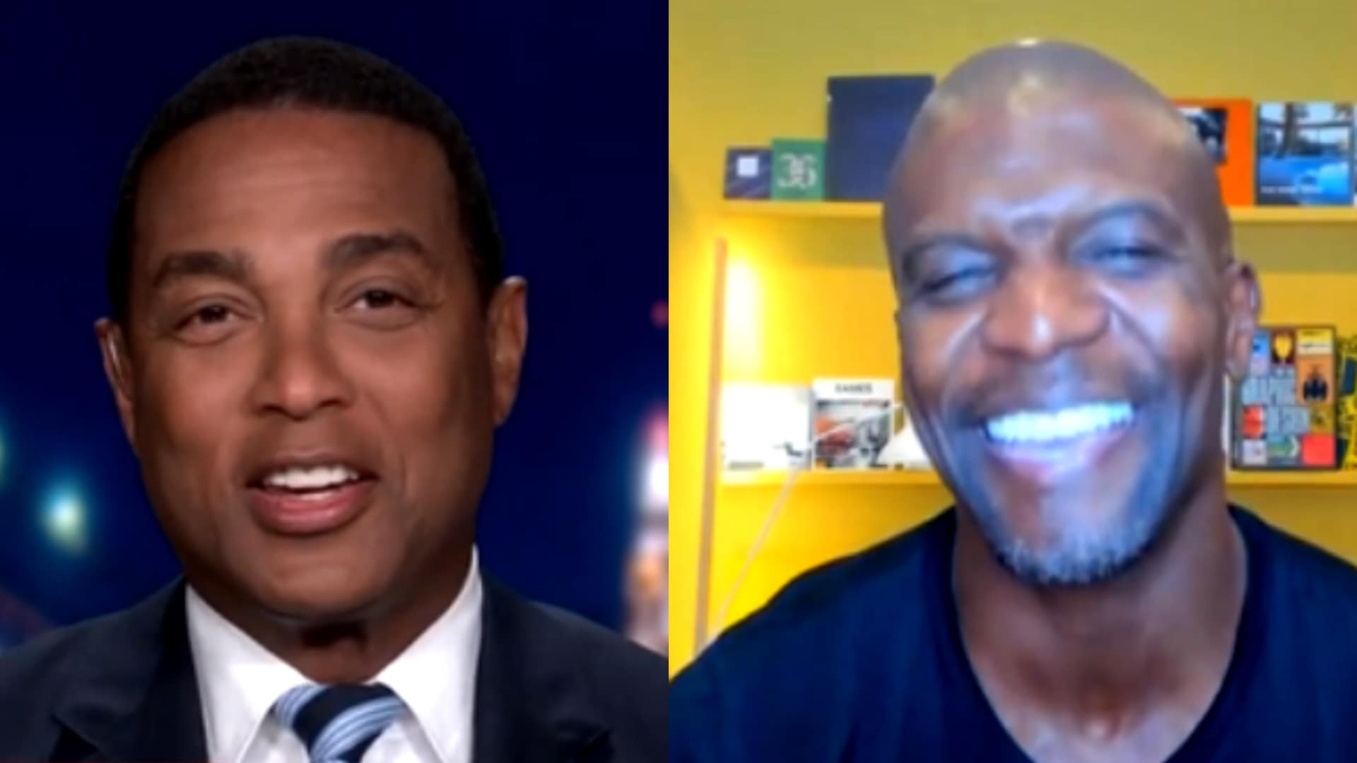 Actor Terry Crews and CNN Tonight host Don Lemon engaged in a spirited debate on CNN last night about Black Lives Matter and what the movement means.