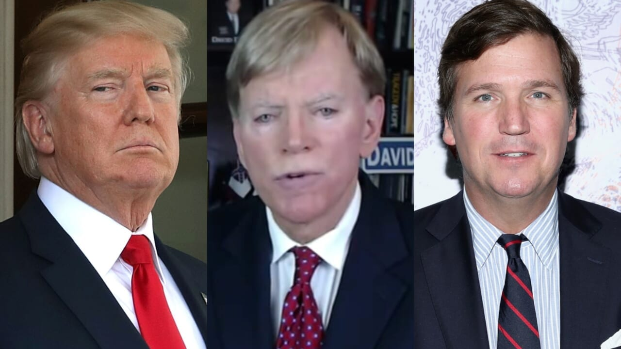 KKK leader David Duke endorses Trump, Tucker Carlson for 2020