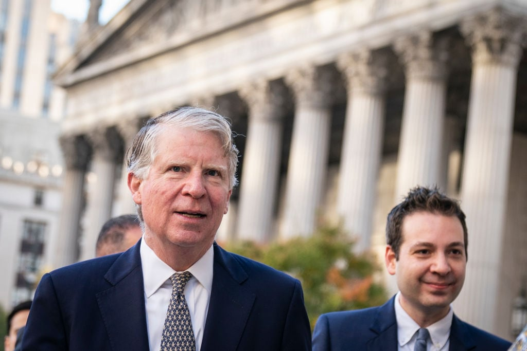 Manhattan District Attorney Cy Vance Appears At Court For Trump Tax Returns Case