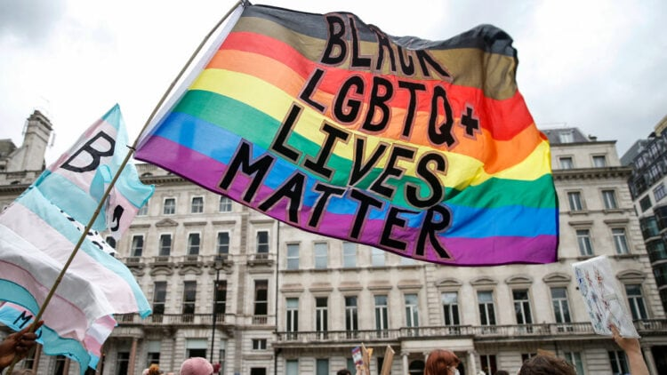 Black Trans Lives Matter Protest Takes Place In Central London