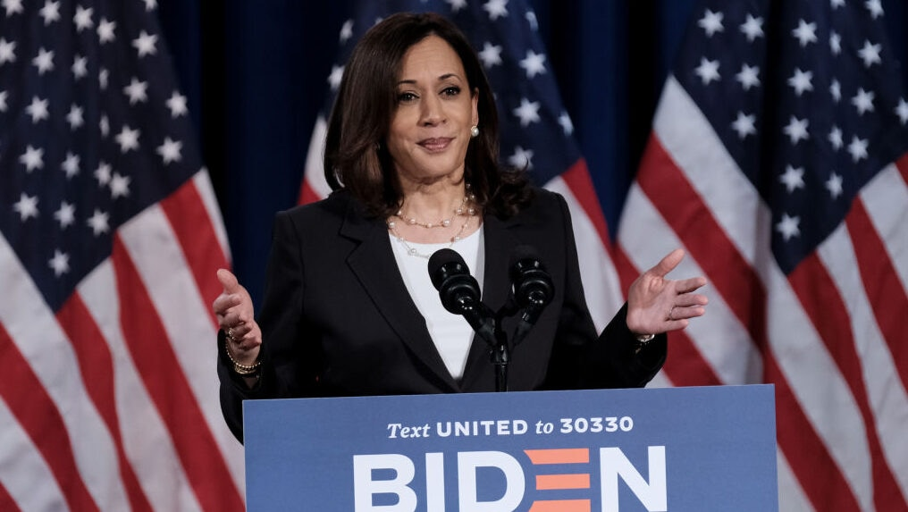 Kamala Harris had the perfect response for critics of Biden's diverse cabinet