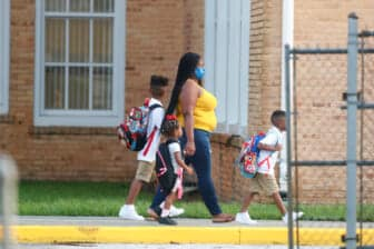 Tampa-Area Chidren Return To Classrooms On First Day Of School