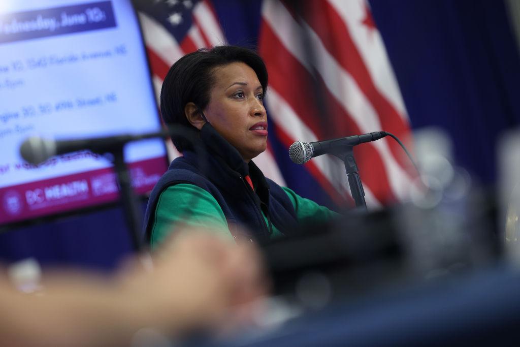 DC Mayor Muriel Bowser Holds Coronavirus Briefing