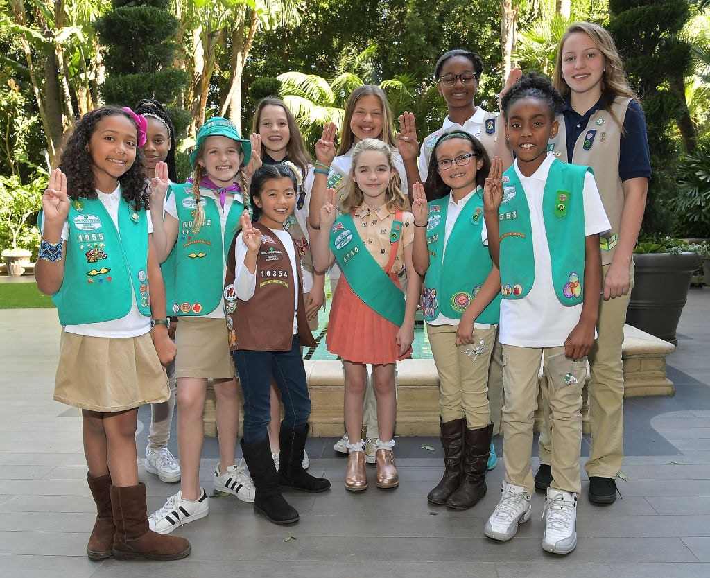 """Gifted"" Star McKenna Grace Becomes A Girl Scout"