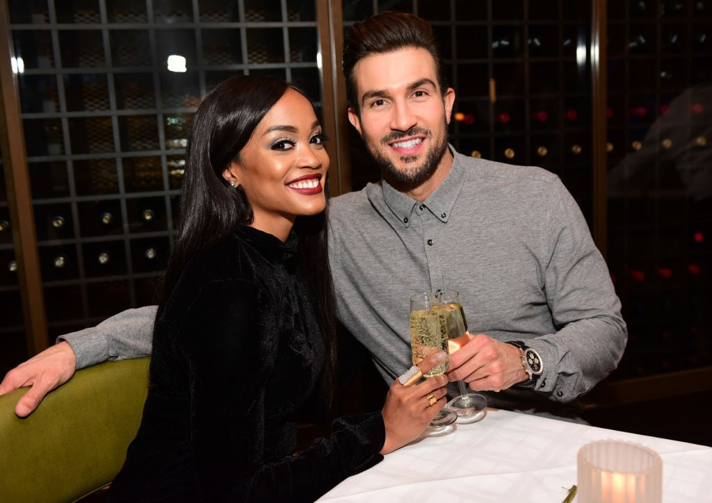 The Bachelorette's Rachel Lindsay Celebrates Birthday With Fiance Bryan Abasolo At SugarHouse Casino, Philadelphia