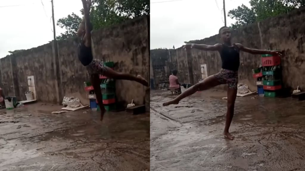 Nigerian boy, 11, offered dance scholarship after ballet video goes viral - cover