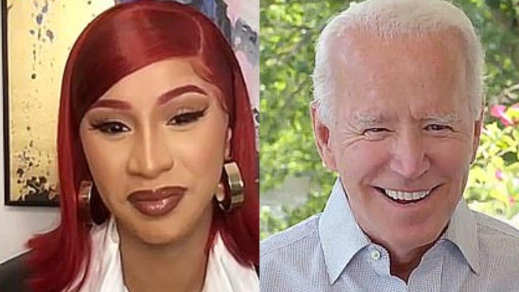 Cardi B Joe Biden thegrio.com