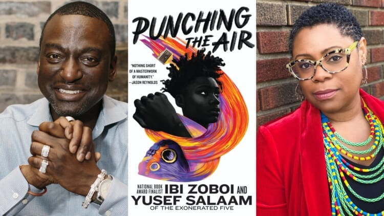 Punching the Air Yusef Salaam The Exonerated Five thegrio.com