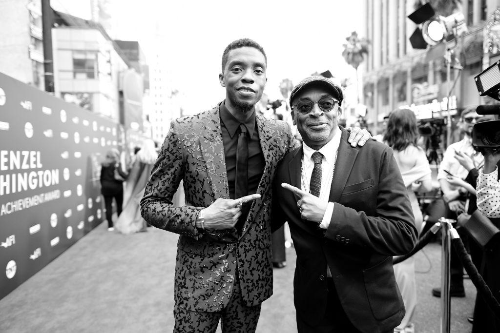 Spike Lee Chadwick Boseman