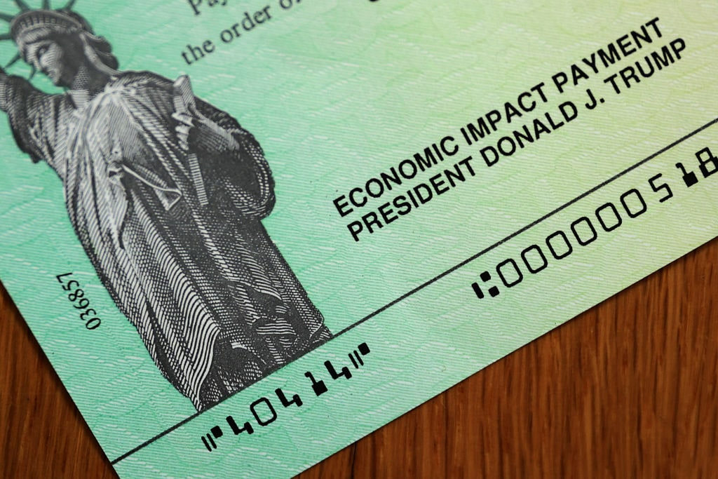 Stimulus Checks With President Trump's Name Sent Out To Americans