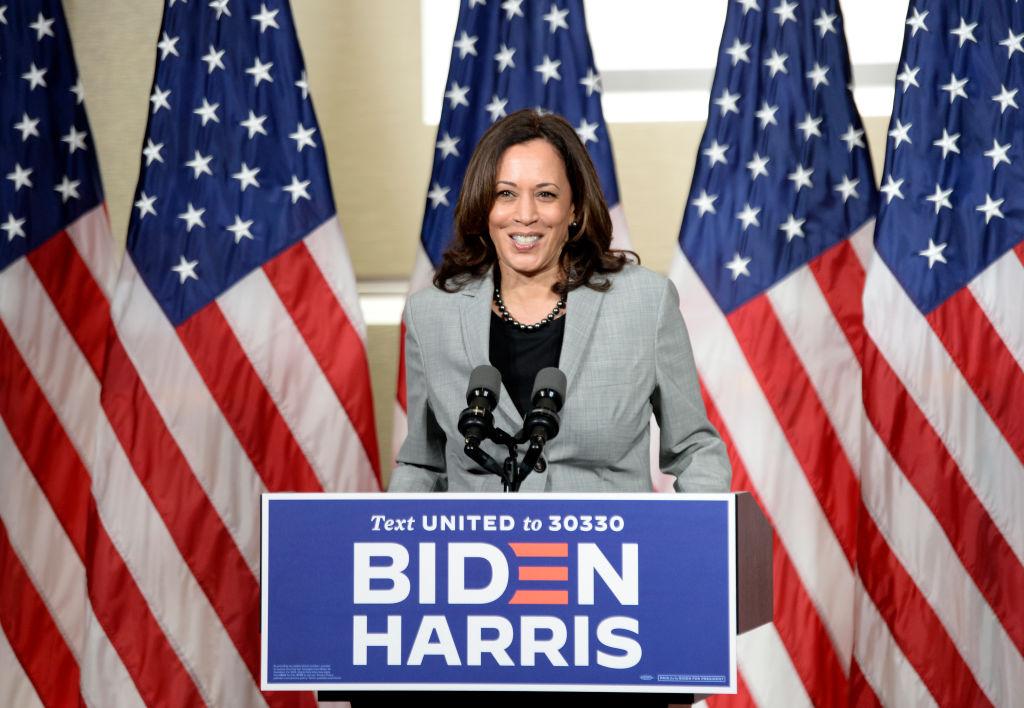 Democratic Vice Presidential Nominee Kamala Harris Campaigns In Raleigh