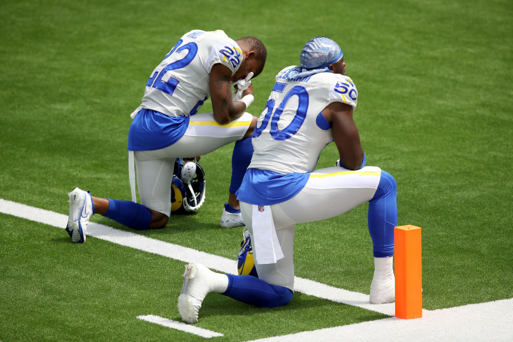 NFL anthem protests BLM sports thegrio.com
