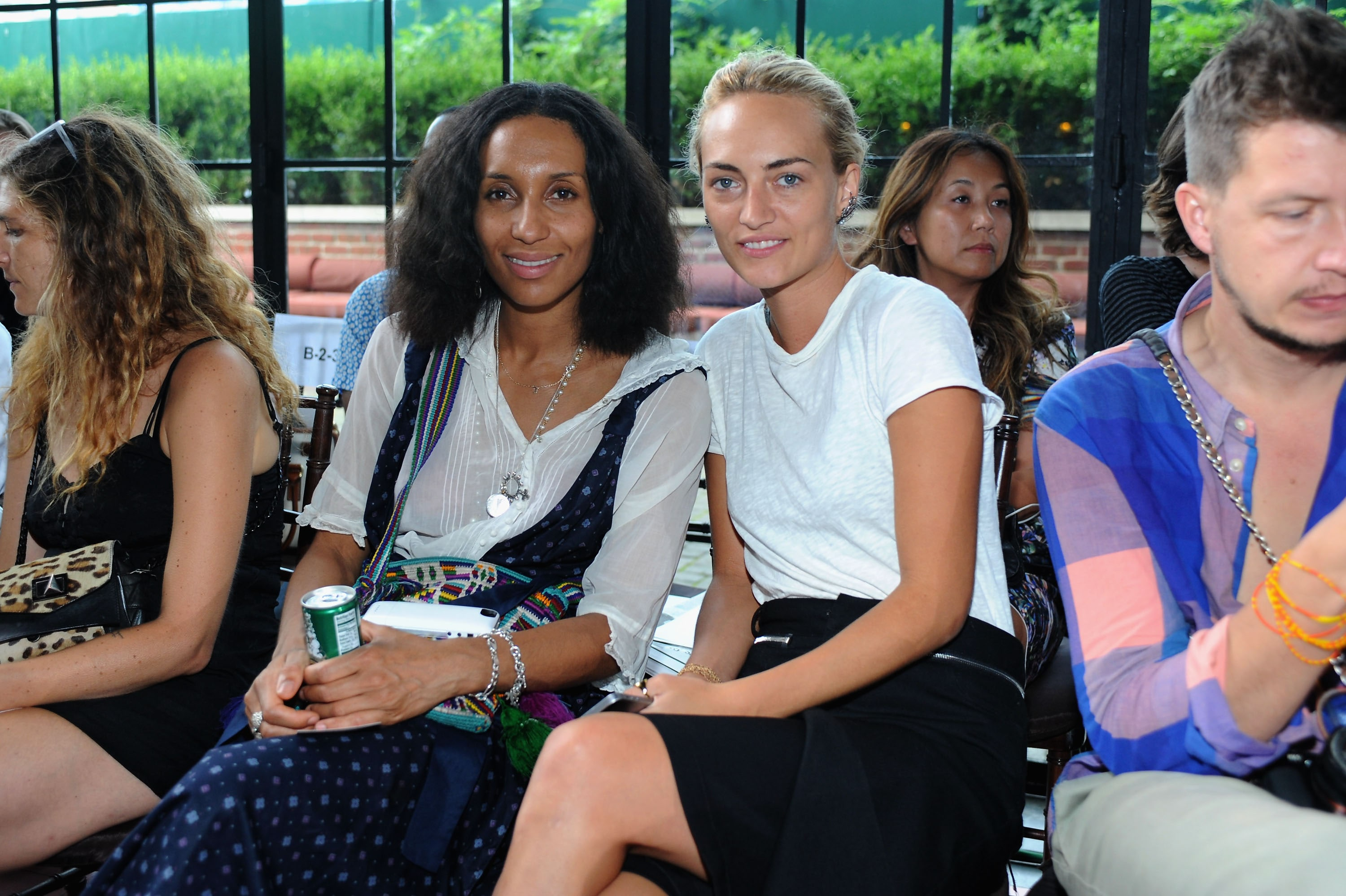 Rodebjer - Front Row - Mercedes-Benz Fashion Week Spring 2015