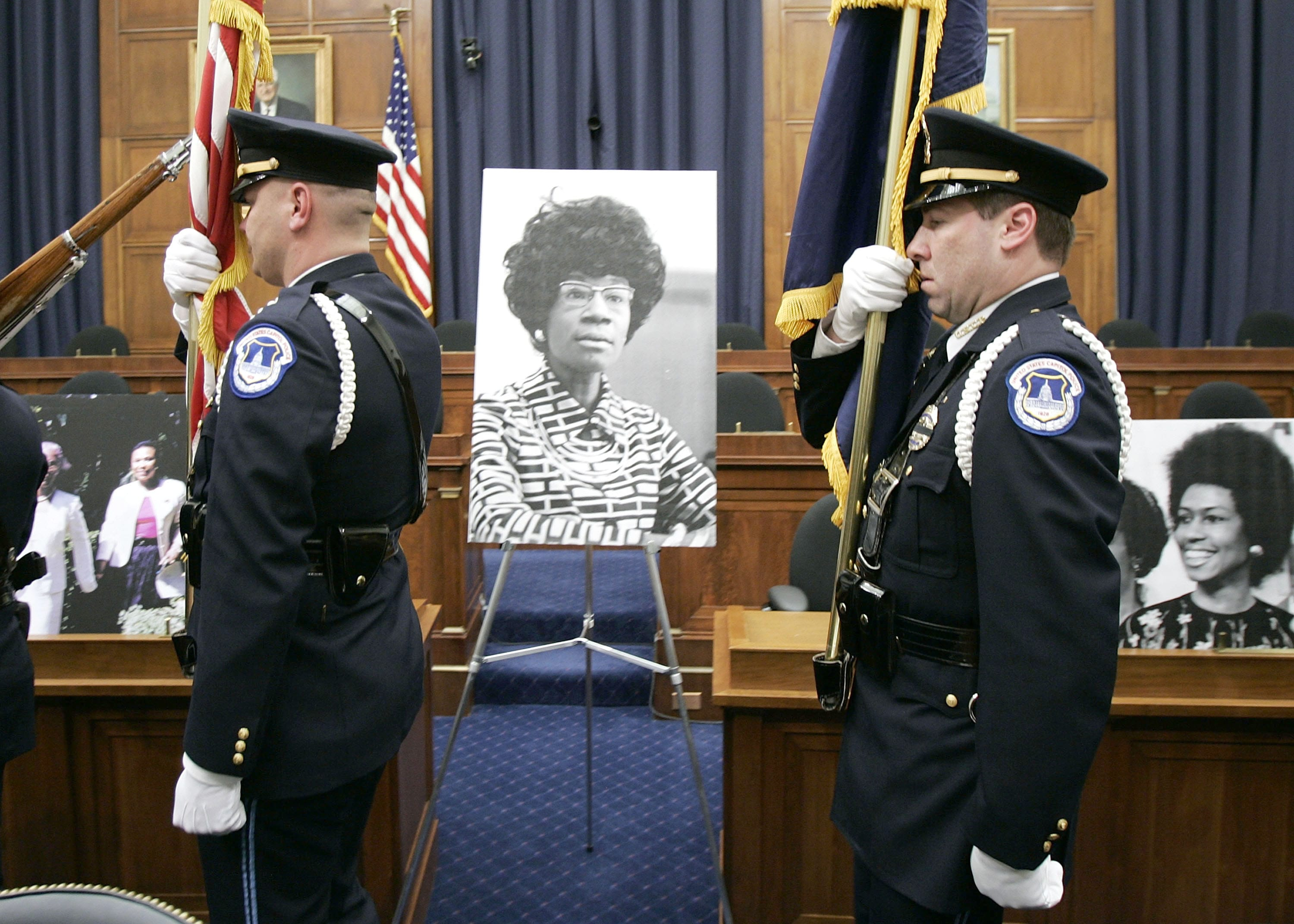 Members Of Congress Remember Shirley Chisholm