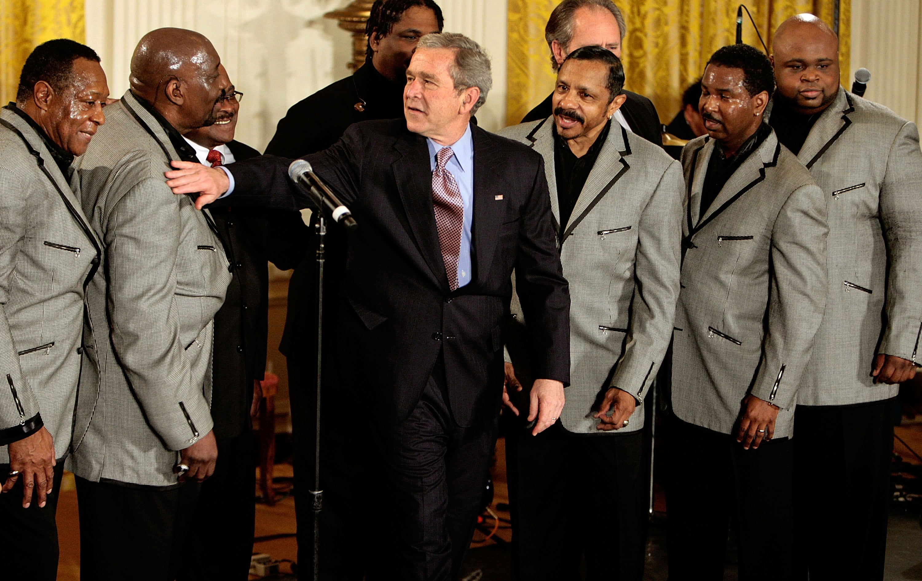 Bush Attends Celebration Of African American History Month