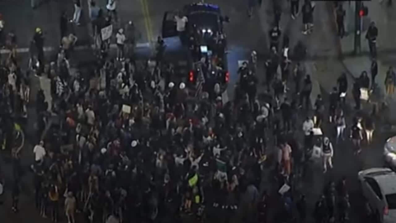 Truck runs into Breonna Taylor protest in L.A.; 1 person injured - TheGrio