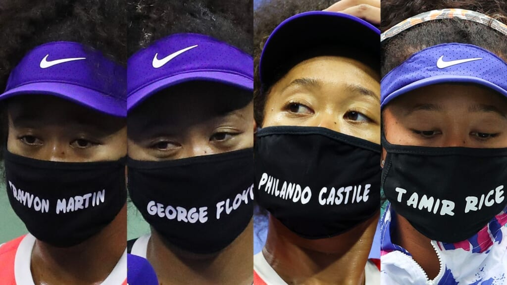 Naomi Osaka U.S. Open tennis thegrio.com