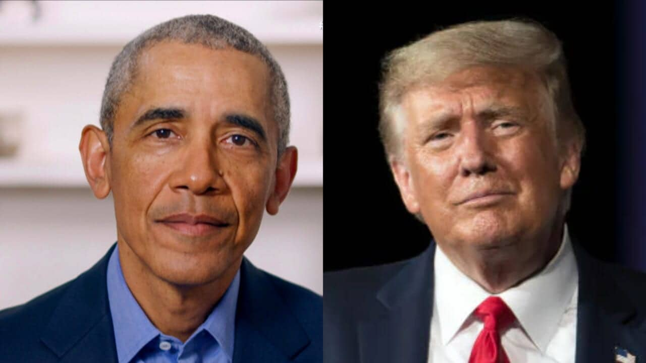 Obama jabs at 'jealous' Trump
