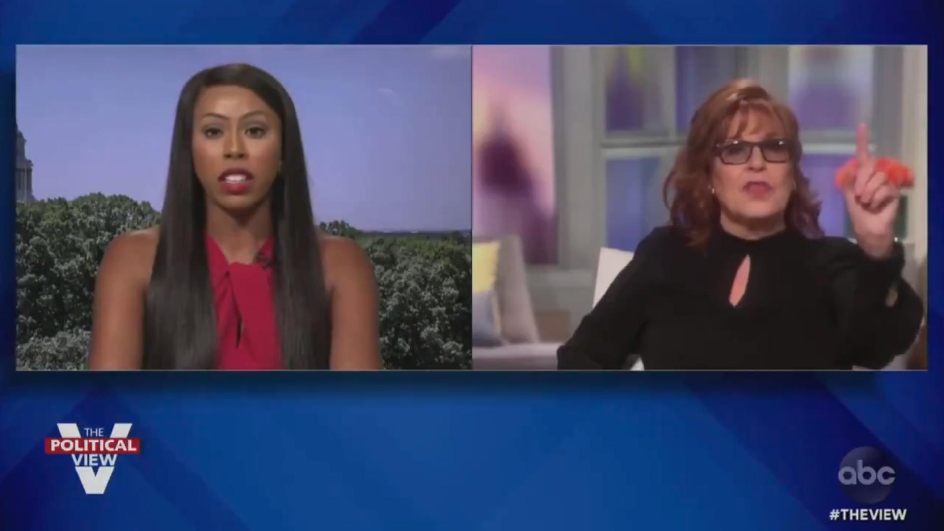 Black GOP candidate accuses 'The View's' Joy Behar of wearing blackface