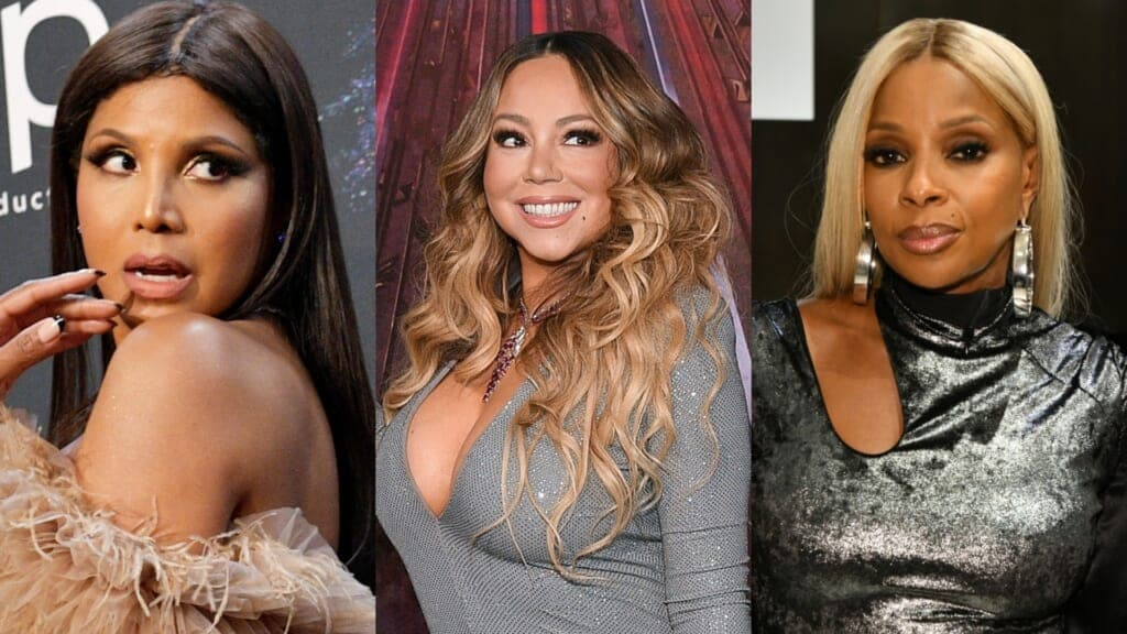 Toni Braxton Is Willing To Go Toe To Toe With Mary J Blige or Mariah Carey on Verzuz